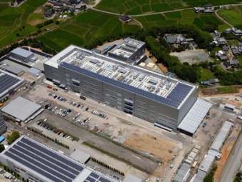 三洋電機の環境対応車用リチウムイオン電池新工場が竣工