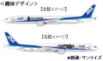 日本上空を「機動戦士ガンダム」が飛ぶ!全日空がコラボ企画を発表