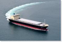 コークス運搬船『若松丸』竣工(クリック)