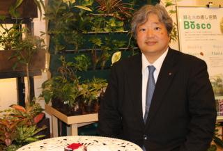 【人】赤塚耕一さん=赤塚グループ社長・国際ガーデンセンター協会副会長