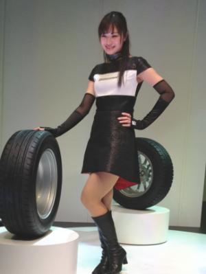 パンクの心配ない新タイヤなど先端技術に期待