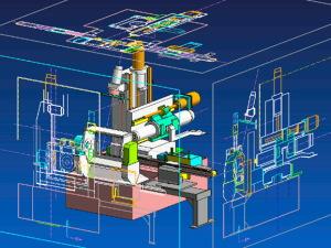 世界初!富士通は100万部品を0.2秒で処理する3次元CADエンジン開発