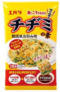 卵とニラですぐできる!エバラ食品は韓国風お好み焼き「チヂミの素」を新発売
