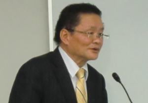 【Newsで一枚】ティーライフの植田伸司社長=決算発表で