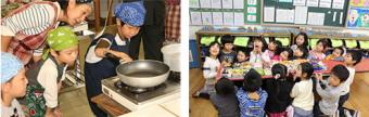 『来年は何を作ろうか』〜「子ども料理教室」運営を支援