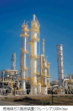 三菱重工業は米サザンカンパニーと共同で石炭焚き排ガスCO2回収大型実証プラントの運転を開始