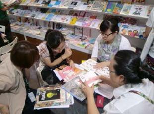 クリーク・アンド・リバー社 台北国際ブックフェアで60件の商談をセッティング