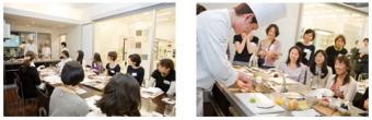 クリナップは他業界各企業と料理教室など積極的業務協力を推進