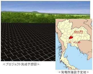 三菱商事は世界最大級の太陽光発電事業をタイで開発