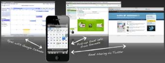 インフォテリアは予定表管理アプリのフェイスブック連携を好感し急伸