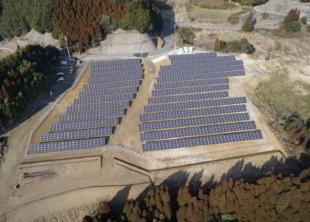 竣工した「佐賀・厳木ソーラウェイ」太陽光発電所