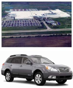 富士重工業:スバル車の米国生産累計台数が200万台を達成
