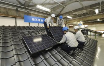 シャープは太陽光発電システムの研修受講者を年間1万人規模へ