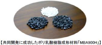 帝人は高植物度・成形性に優れたポリ乳酸樹脂成形材料を共同開発に成功