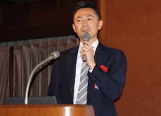【Newsで一枚】テラの矢崎雄一郎社長=個人投資家IRセミナーで講演