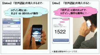 アドバンスト・メディア iPhone 3GS向け営業支援システムに対応するセキュアな「音声認証」機能を開発