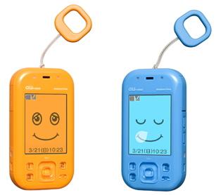 KDDIは京セラ製の子供向けau携帯電話「mamorino」を販売
