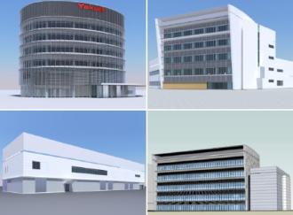 ヤクルト本社はヤクルト中央研究所に研究棟4棟を新設