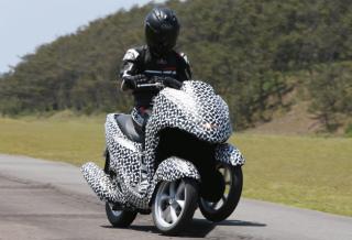 ヤマハ発動機 14年前半に三輪バイクを発売、マイクロ四輪車も開発